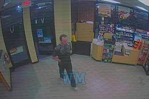 Surveillance photo of QuickChek robbery suspect