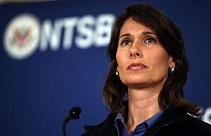 National Transportation Safety Board (NTSB) Chairwoman Deborah Hersman