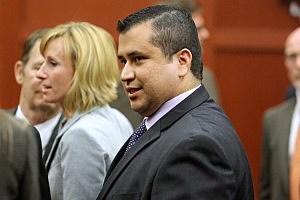 George Zimmerman leaves the courtroom a free man after being found not guilty