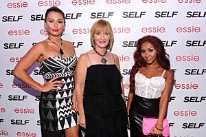 "(L-R) Jenni ""JWOWW"" Farley, Laura McEwen and Nicole ""Snooki"" Polizzi attend Self Rocks the Summer Event"