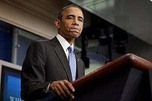 President Barack Obama speaks on the Trayvon Martin case