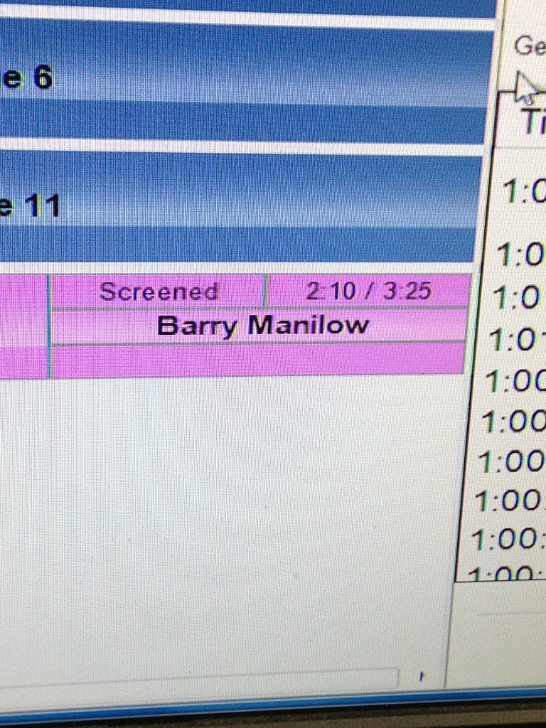 Barry Manilow on Air with Dennis and Judi on NJ1015