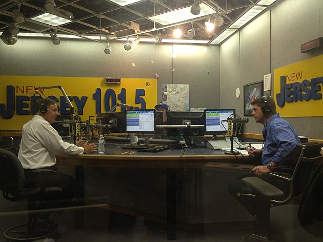 Jon Bramnick in studio with Eric Scott