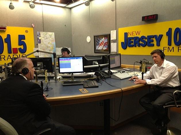 Steve Sweeney in studio with Eric Scott on July 2nd 2013