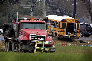 School bus accident in Chesterfield in 2012