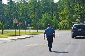 Poilice investigate suspicious object at Elms Elementary School in Jackson