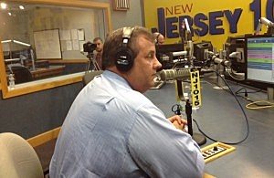 Chris Christie on Ask the Governor, June 2013 (Staff photo)