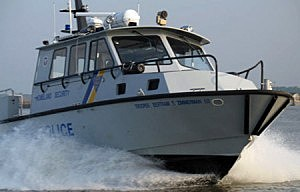New Jersey State Police Marine Services boat