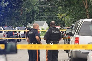 Trenton Police investigate a shooting in Villa Park