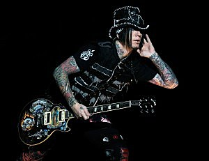 Guitarist Dj Ashba of Guns N' Roses