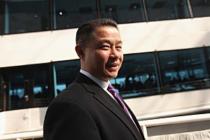 New York City Comptroller and mayoral candidate John Liu