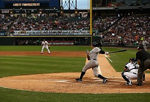 Alex Rodriguez batting