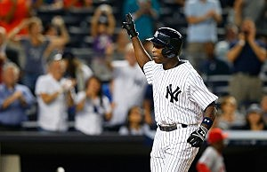 Alfonso Soriano of the New York Yankees
