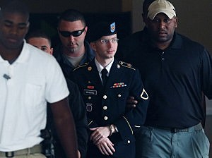 US Army Private First Class Bradley Manning