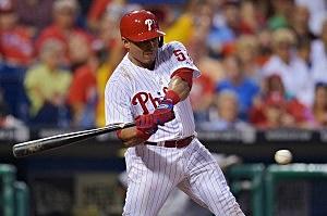 Carlos Ruiz of the Philadelphia Phillies