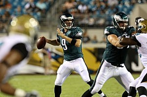 Philadelphia Eagles quarterback Nick Foles