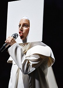 Lady Gaga performs during the 2013 MTV Video Music Awards