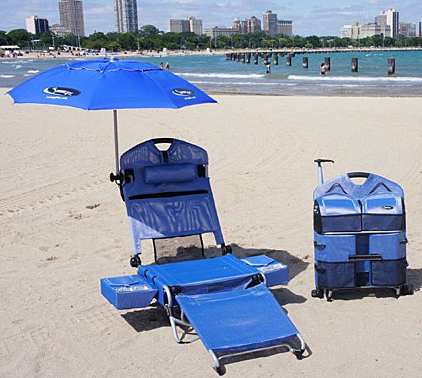 Beach Lounger Chair w/ Speakers and Digital Amplifier $299.99 at Amazon.com & 5 Cool Beach Chairs that are Refreshingly Functional islam-shia.org