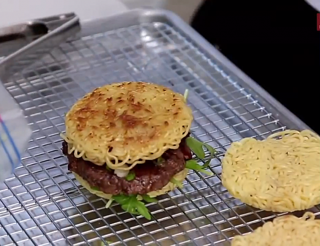 The Ramen Burger in New York City