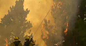 Yosemite-area wildfire