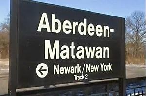 Aberdeen-Matawan NJ Transit station