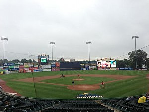 Arm and Hammer Field, home of the Trenton Thunder