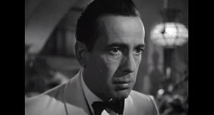 Humphrey Bogart in Casablance