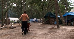"Lakewood's Tent City as seen in the movie ""Destiny's Bridge"""