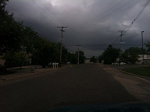 Dark clouds over Eatontown