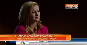 Hannah Anderson on NBC's Today Show