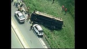 School bus accident in Bonner Springs, Kansas
