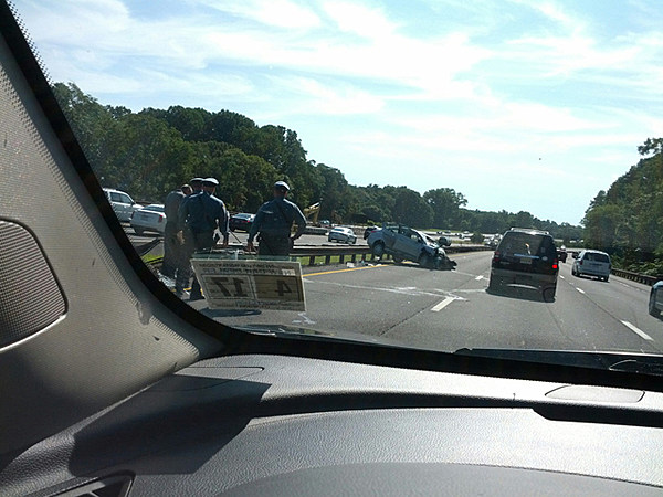 Garden state parkway accident causes big delays for Garden state parkway south accident