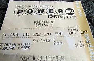 Powerball ticket for Saturday (Dan Alexander, Townsquare Media NJ)