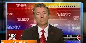 Rand Paul on Fox News Sunday
