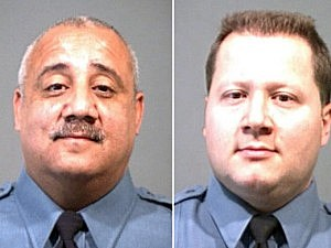 Trenton Police Detectives Edgar Rios and James Letts