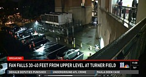 Police investigate fall at Atlanta's Turner Field