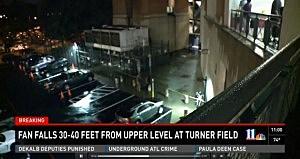 Police investigate fall at Atlanta's Turner Field