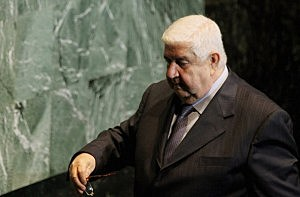 Walid Al-Moualem, Minister of Foreign Affairs for Syria