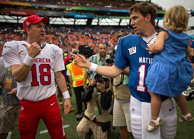 How much would you pay to see the Manning brothers go head to head?