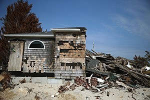 NJ Beach Town Devastated By Hurricane Sandy
