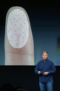 Apple Senior Vice President of Worldwide Marketing Phil Schiller speaks about security features of the new iPhone 5S
