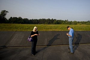 isitors attend ceremonies at the Flight 93 National Memorial l In Shanksville, PA