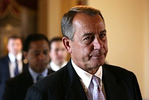 Speaker of the House Rep. John Boehner (R-OH)