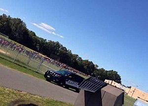 Evacuation of students from Cherry Hill East High School during a bomb threat