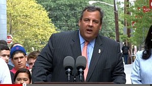 Governor Christie at the New Jersey Institute of Technology in Newark