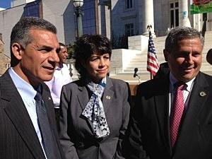 (L-R) Assemblyman Jack Ciattarelli, Assemblywoman Donna Simon, and State Senator Kip Bateman