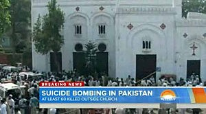 Suicide bombing in Pakistan