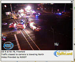 Accident on Route 9 and Schanck Road in Freehold