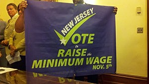 Minimum Wage Campaign (Kevin McArdle, Townsquare Media NJ)