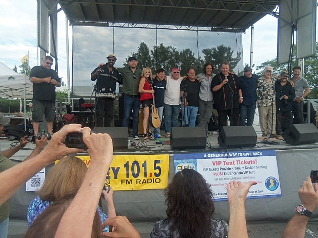 "Big Joe Henry hosts the ""Restore The Shore"" concert"
